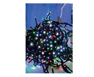 Filo di luci led per esterno con giochi di luce multicolor - l 600 cm