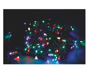 Filo di luci led per esterno con giochi di luce multicolor - l 1000 cm