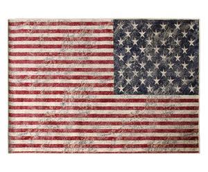Tappeto in viscosa Usa Flag - 95x140 cm