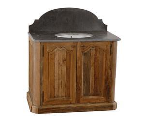 Mobile bagno decor in pino con lavello Odessa - 105x86x60 cm