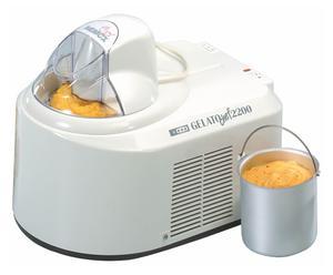 Gelatiera a compressore Gelato Chef 2200 - 25x35x31 cm