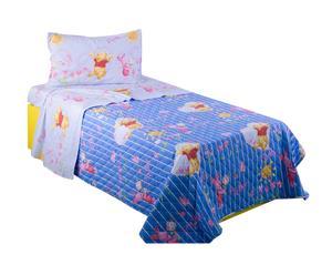 Completo letto singolo in cotone - Winnie the pooh