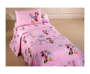Copriletto per letto singolo in cotone panama - Minnie