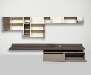Composizione living Fortepiano - 2 elementi - 308x177x50 cm