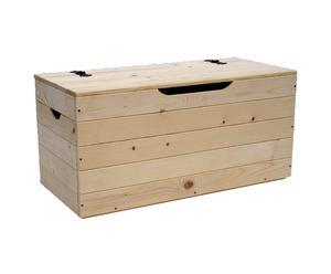 Panca Contenitore Legno : Cassapanca in teak: note di legno per la casa dalani e ora westwing