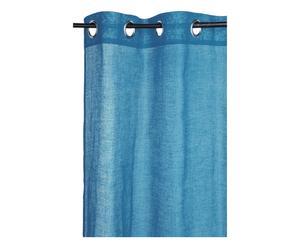 Tenda in cotone Color blu - 140x250 cm
