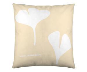 Federa arredo in cotone Vainilla beige - 60x60 cm