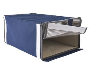 Scatole portascarpe in tnt Easy Box blu - 24x16x36 cm