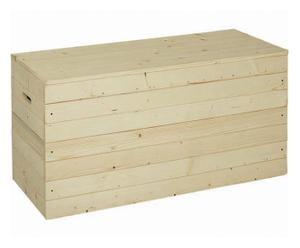 Cassapanca in legno in kit Panc, l 100 cm