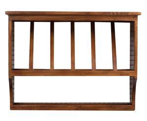 Piattaia in legno massello Sandy naturale - 80x28x60 cm
