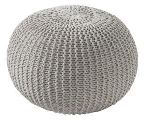 Pouf in cotone like panna - d 50 cm