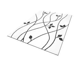 Tappeto in lana Spring bianco e grigio - 170X240 cm