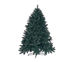 Albero di Natale in poliestere Pino siberiano verde - H 180 cm