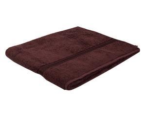 Telo bagno in puro cotone Madison marrone - 100x160 cm