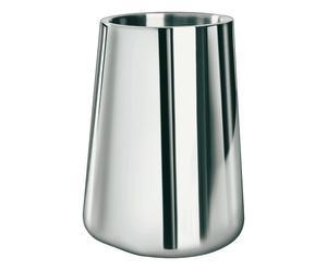 Glacette in acciaio argento - h 20 cm