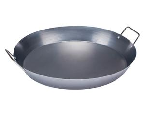 Padella in acciaio al carbonio Paella - 40x9x35 cm