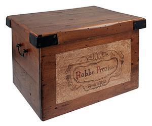 Scatola in legno di pioppo Robbe preziose - 35x27,5x24 cm
