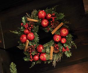 Ghirlanda in plastica Merry Christmas