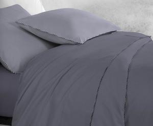 set matrimoniale raso di cotone scotland - grigio
