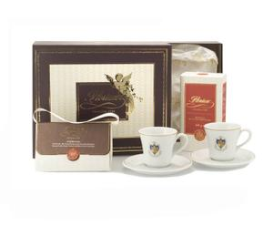 Set ROOM SERVICE (2 tazze, caffè e praline al cioccolato)