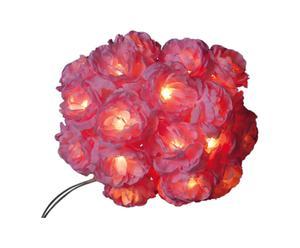 Set di 20 luci decorative Happy light - rosa