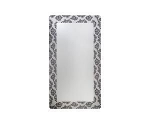 Specchio da parete con pizzo nero Carmen - 160X90X3 cm