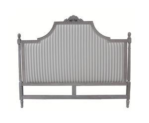 Testata letto in legno di betulla e lino Louise