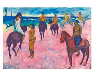 Puzzle Cavalli in spiaggia di P. Gauguin