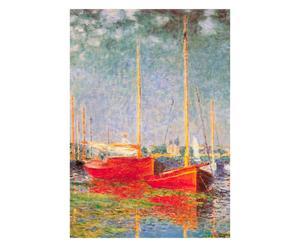 Puzzle Les bateaux d'argenteuil di C. Monet