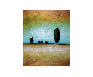 Dipinto olio su tela Un paesaggio, un'emozione - 50X60 cm