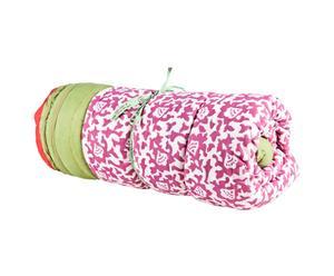 Quilt in cotone Arabesque fucsia/bianco - 270X220 cm