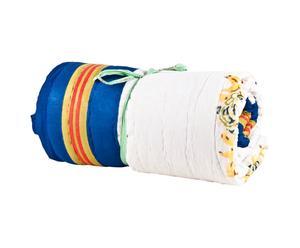 Quilt in cotone Edges bianco - 270X220 cm