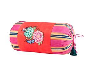 Cuscino a sacco in cotone Queen Warm rosso - 55X28 cm