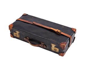Valigia da pic nin in pelle e metallo design 1930 - 65X17X31 cm