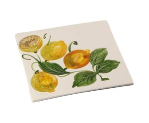 Sottopentola in ceramica Limone - 20X20 cm