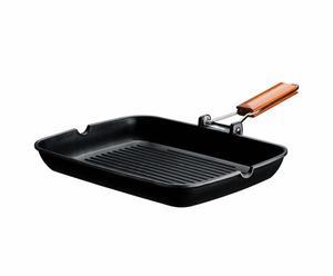 bistecchiera antiaderente cooking - 36x26 cm