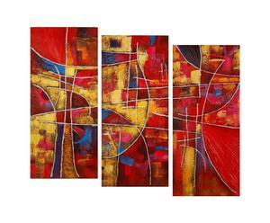Olio su tela Abstrat II - 40x90 cm