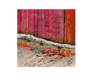 Olio su tela Astratto VII - 50x50 cm