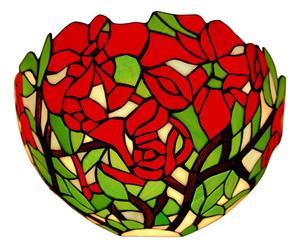 Applique in vetro Rose - 37x18x17 cm