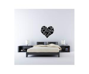 Sticker in vinile Hearts of hearts - 55x60 cm