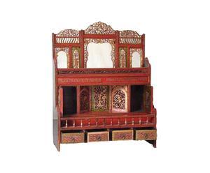 Mobiletto ad altare cinese in legno di abete - 75x96x27 cm