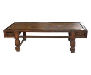 Tavolo/letto antico cinese in faggio - 172x50x72 cm