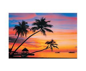 Stampa su pannello mdf MALDIVES - 90x60 cm