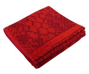 telo mare in cotone rodi rosso- 70x140 cm