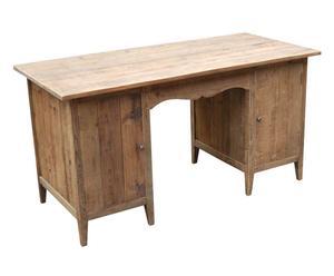 SCRIVANIA in legno a 2 ante Maria - 150x78x70 cm
