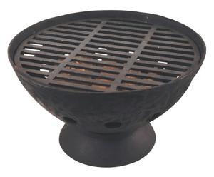 braciere barbeque in ghisa diomede - 54,5x54,5x31 cm