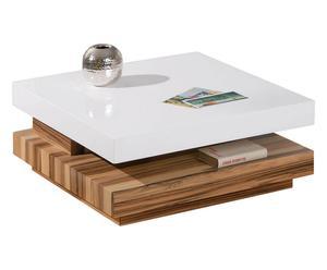 Tavolino in legno con rotazione Duomo - 75x30x75 cm