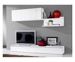 Composizione salotto in legno TWIST II - 3 elementi