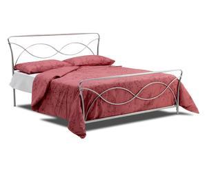 letto matr. in ferro ocean - 165x115x200 cm
