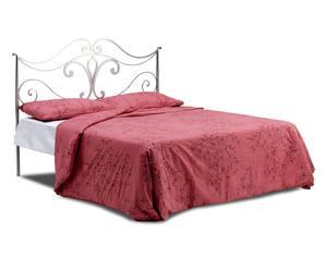 letto matr. in ferro queen - 165x115x200 cm
